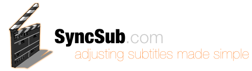 SyncSub - adjusting subtitles made simple